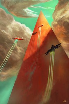 """""""I Think I Can See the Top!"""" by #AmauryBündgen.  #sciencefiction #scifi"""