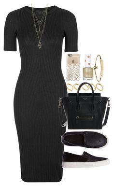 """""""Outfit with a knit dress"""" by ferned on Polyvore featuring ASOS, Topshop, SELECTED, MICHAEL Michael Kors and Charlotte Russe"""