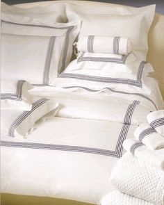 Yacht & Private Jet Bed Linens - Italian Fine Linens