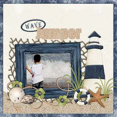 #scrapbook page idea from @Melissa Squires Squires Bennett