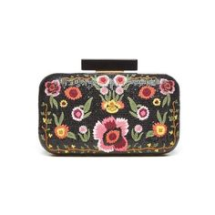Alice & Olivia Bohemian Large Clutch (6.630 ARS) ❤ liked on Polyvore featuring bags, handbags, clutches, multi, flower print purse, boho handbags, boho chic handbags, floral print handbags and bohemian purses