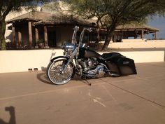 Matt Geberts road king...(Nautical Customs)