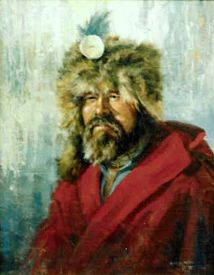 John Colter, painting by Gerry Metz This Day in History: Mar 1, 1872: Yellowstone Park established http://dingeengoete.blogspot.com/