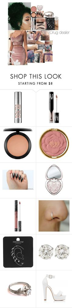 """""""Conan // 25 May 2017"""" by fuckmeirwin ❤ liked on Polyvore featuring Urban Decay, Kat Von D, MAC Cosmetics, Milani, Too Faced Cosmetics, Topshop and Forever New"""