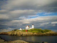 """Cape Neddick (""""Nubble"""") Lighthouse, York, Maine"""