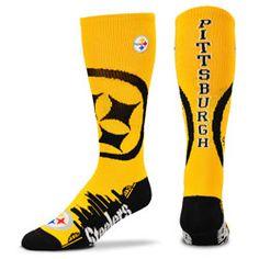 Pittsburgh Steelers Skyline Crew Socks  http://www.fansedge.com/Pittsburgh-Steelers-Skyline-Crew-Socks-_759823352_PD.html?social=pinterest_pfid47-37143