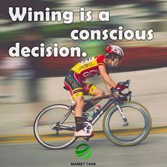 Decide to win.  #success #motivation #money #webdesign #marketing