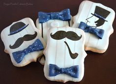 Mustaches and bow ties
