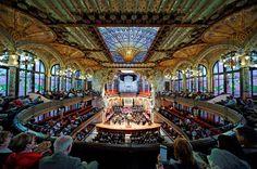 Palau de la Música Catalana. Must. Go. There.