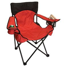 BigUn Camp Chair  Red ** To view further for this item, visit the image link.