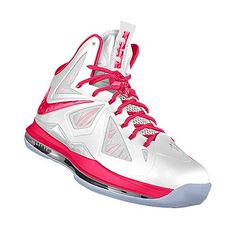 fc5426547b083f nike lebron 10 gs fireberry 543564 600 Think Pink Black for sale ...