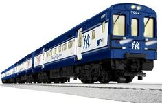 NEW YORK YANKEES / METS SUBWAY READY-TO-RUN TRAIN SET  - Click image twice for more info - See a larger selection of lionel  at http://zkidstoys.com/product-category/lionel/ - kids, toddler, grown up toys, building toys, educational toys, christmas 2014, holidays, gift ideas