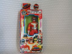 Power Rangers Turboranger Turbo RED Figure Chogokin Popy Japan