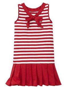 Drop-waist with knife-pleated skirt GAP  *Sailor