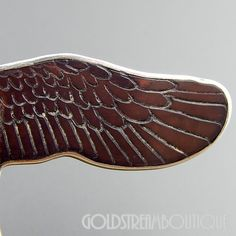 Native American Harlan Monica Coonsis Zuni Sterling Silver Carved Gemstones Bald Eagle Pendant Pin Combo