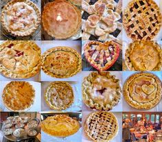 """fun way to have other people involved in the """"dessert""""-  To celebrate family and love, a group of mommies, aunties, and grand-moms got together two nights ago and created pies for the wedding. Each pie maker put a blessing for the couple into their pie."""