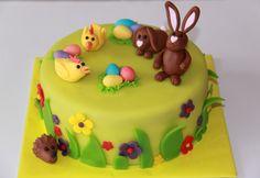 Themataarten - Koning Kikker Easter cake