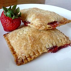 Week 20-Homemade Pop-Tarts- They taste like little pies! I made a cherry-cranberry filling and they turned out great. However, these are a LOT of work since the dough is delicate at 1/8 inch thick. Next time, I'd make circular shapes and fold over for hand pies. I think Apple filling would be great also.