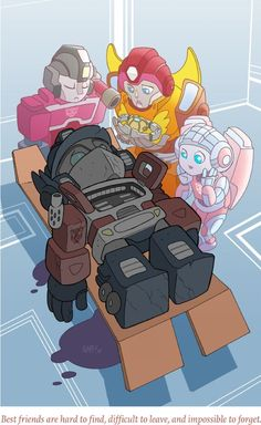 Adorable renditions of comics' greatest tragedies: Death of Optimus Prime.