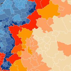 Nederlanders, Duitsers en Belgen | CartoDB