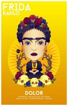 Más de 20 ilustraciones que artistas han hecho como tributo a Frida Kahlo