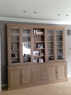 Armoire échelle Ref 9 Wooden Display Cabinets, Rustic Cabinets, Glass Cabinet Doors, China Cabinet, Glass Door, Bookshelves, Sweet Home, Living Room, Storage