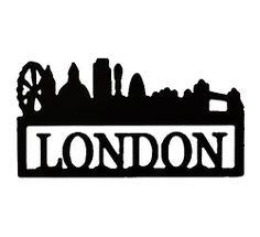 Skyline - London, på veggen:)