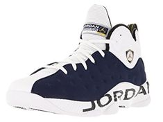 sale retailer 0966f 5a42a NIKE 819175-417 Men Jumpman Team II Jordan Midnight Navy White Varsity MA
