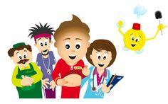website Poepie info, van de Maag/lever/darmstichting, biedt kinderen van 6 t/m 10 jaar begrijpelijke info over de spijsvertering en verstandige voedingskeuzen.