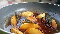 Karamellizált alma zsályával - AntalVali Baked Potato, French Toast, Potatoes, Baking, Breakfast, Ethnic Recipes, Food, Morning Coffee, Potato