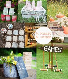 via www.vintageweddingfair.co.uk blog - 10 Things every Summer Garden Party Needs | Music and Lawn Games #vintagegarden #gardenparty