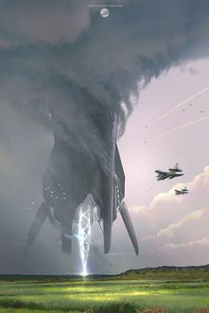 Foreign Visitor by Simon Fetscher | Sci-Fi | 2D | CGSociety