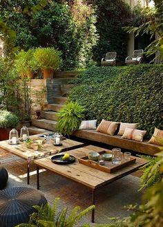 Fotos de terrazas terrazas y jardines modelos de terraza for Living de terraza easy