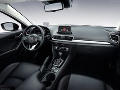 Mazda 3 (2014) iç dizayn