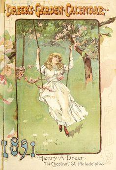 Dreer's Garden Calendar 1891  (catalogue)