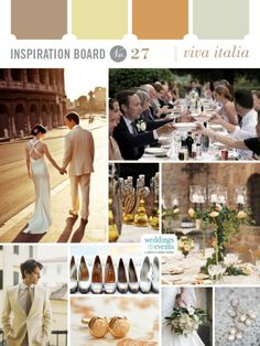 Inspiration Board #27: Viva Italia | Elegance & Enchantment