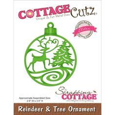 CottageCutz are universal thin metal dies They are easy-to-use and add great detail to any craft project This die is compatible with most consumer