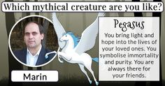 Which mythical creature are you like?
