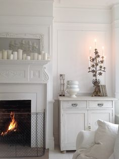 White winter decor