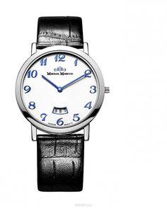 Часы мужские наручные Mikhail Moskvin Elegance, цвет: серебряный, черный. 1014S0L3