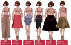 Una falda para cada tipo de cuerpo   mujer.com.pa