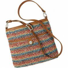 Gaudi Park Feliz Crochet Messenger