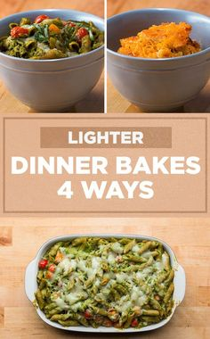 Get cozy with these 4 lighter dinner bakes!