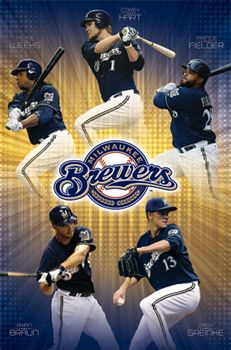 Milwaukee Brewers Five Alive (2011) - Costacos Sports