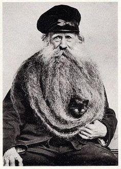 awwww  wait a minute, is that his beard!?!