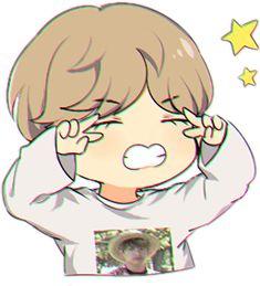 taehyung bts cute chibi fanart - Sticker by Fran Bts Chibi, Haikyuu Chibi, Sasuke Chibi, Anime Chibi, Chibi Goku, Bts Taehyung, Taehyung Fanart, Bts Jungkook, Bts Kawaii
