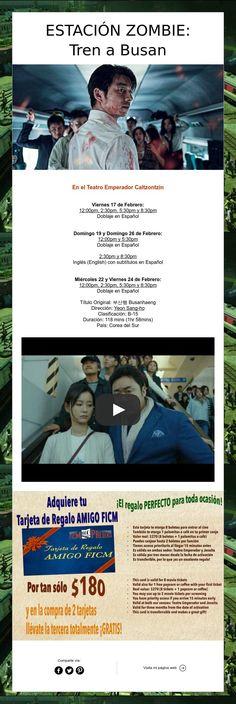 Estación Zombie: Tren a Busan ¡Sube a bordo para sobrevivir! ¡Gran estreno en Pátzcuaro!