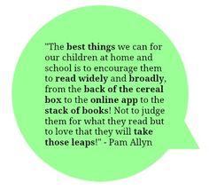 Pam Allyn on the best things we can do for our children. #readeveryday