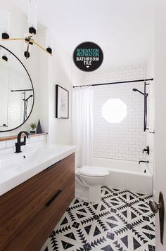 RENO INSPIRATION | BATHROOM TILE