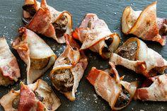 Olcsó és nagyon finom: a baconbe tekert csirkemáj 30 perc alatt elkészül - Receptek | Sóbors Bacon, Fish, Meat, Pisces, Pork Belly